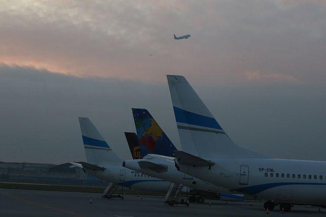 Loty z lotniska zostały przekierowane lotniska