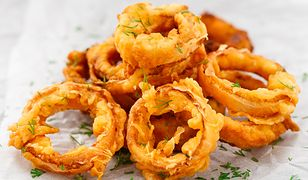 Onion rings. Przekąska idealna
