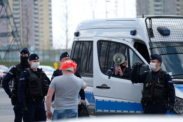 Warszawa. Mężczyzna został zatrzymany przez policję