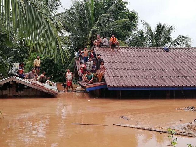 Woda zalała co najmniej 6 miejscowości