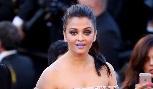 Fioletowe usta królowej Bollywood najgłośniej komentowane w Cannes
