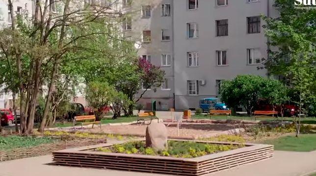 Wrocław. Grow Green. Kwiaty rosną na betonie