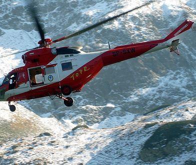 Ratownicy pomogą turystkom przy okazji lotu do innego poszkodowanego