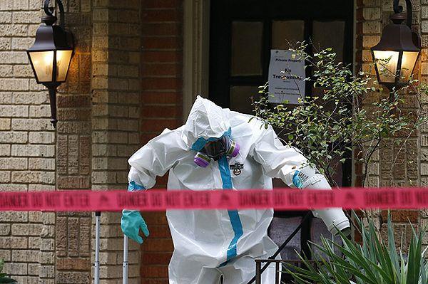 Mieszkanie pielęgniarki, u której stwierdzono ebolę
