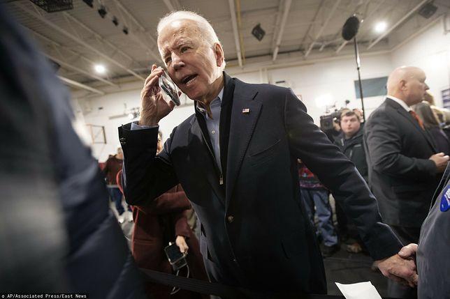 Joe Biden przeprowadził rozmowę z Emmanuelem Macronem