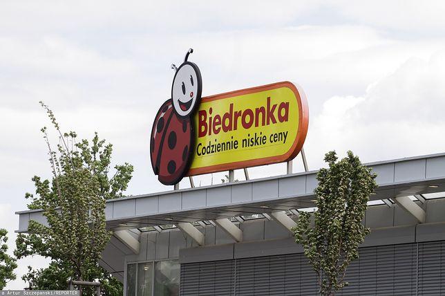 Sklep Biedronka w Łodzi zamknięto do odwołania