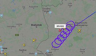 Białoruś. Samoloty zawracają przed granicą z Polską