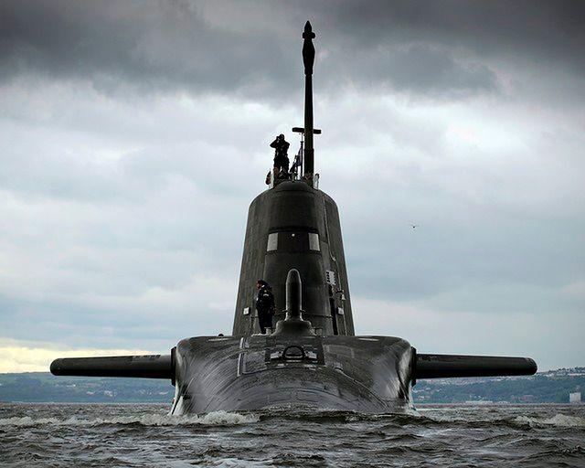 Atomowy straszak Wielkiej Brytanii