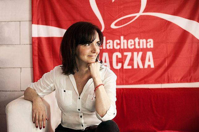 Joanna Sadzik, nowa prezes stowarzyszenia Wiosna