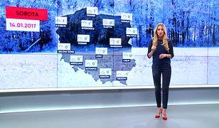 Prognoza pogody na 14 stycznia
