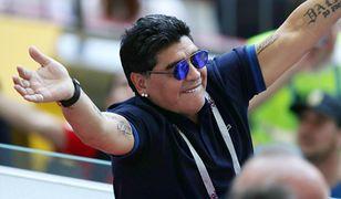 Diego Maradona w 2018 roku