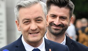 Robert Biedroń ogłosił skład sztabu wyborczego Wiosny