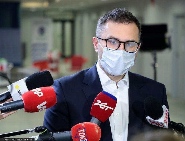 Koronawirus w Polsce. Michał Kuczmierowski przekazał informacje o najnowszej dostawie szczepionek
