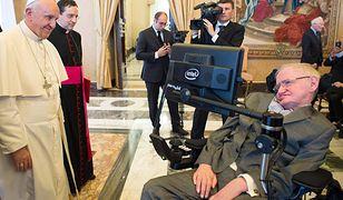 Stephen Hawking hospitalizowany w rzymskiej klinice Gemelli