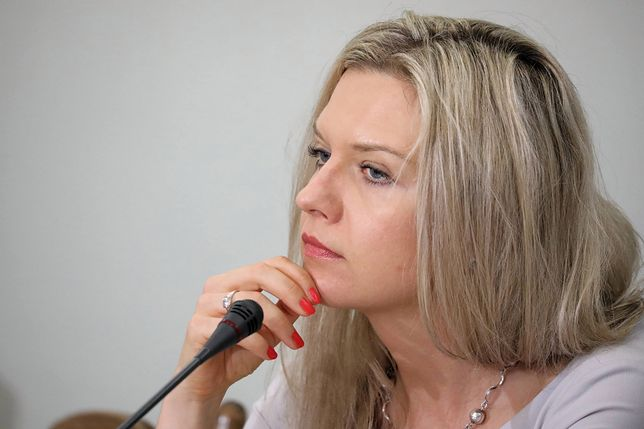 Małgorzata Wassermann na posiedzeniu komisji śledczej ds. Amber Gold