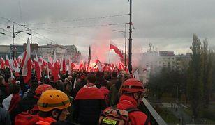 Ulice po Marszu Niepodległości. 1,5 tony śmieci