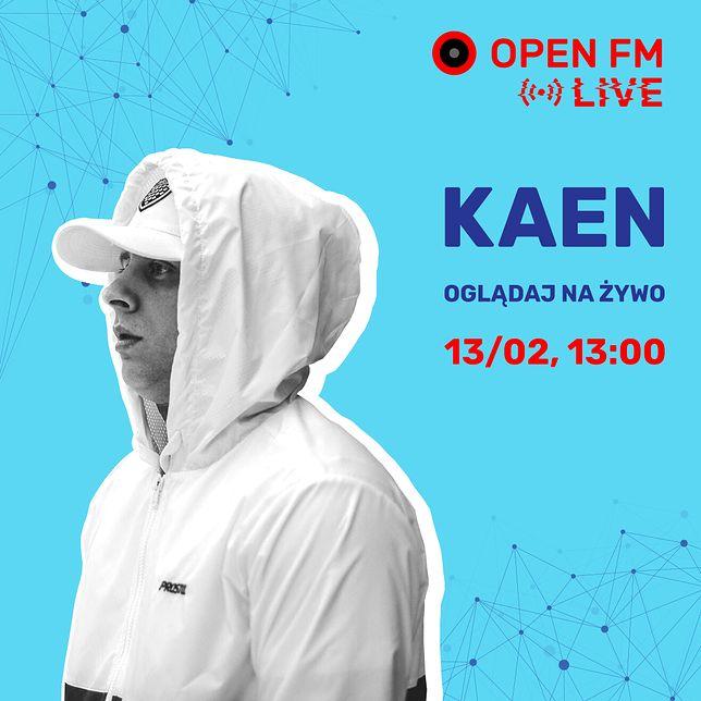 Open FM Live: KaeN w studio Telewizji WP