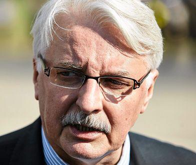 Witold Waszczykowski stwierdził, że komentarz Tuska ws. rządów PiS to skoordynowana akcja przeciwko Polsce