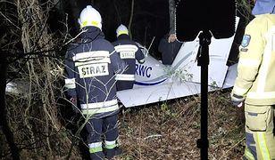 Mazowsze. Awaryjne lądowanie lekkiego samolotu między Markami a Kobyłką