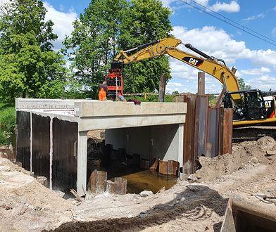 Trwa remont mostu kolejowego