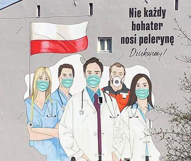 Warszawa. Mural pojawił się w środę na Tamce