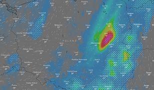 IMGW ostrzega przed kolejnymi burzami i ulewami