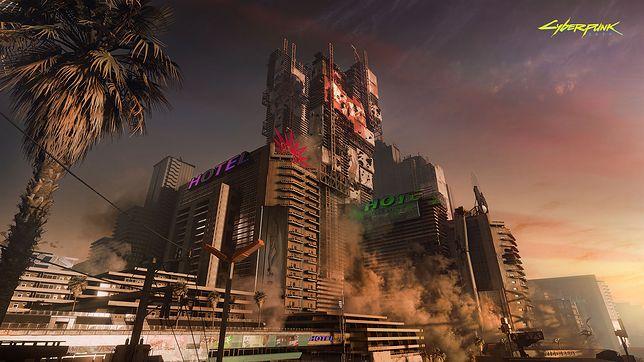 """""""Cyberpunk 2077"""" - nowy gameplay na karcie od nVidii"""