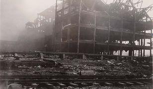 Zniszczony budynek w Texas City