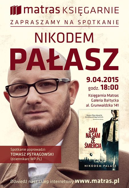 Nikodem Pałasz w Gdańsku