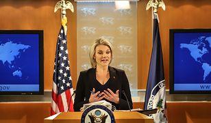 USA z zadowoleniem przyjęły zmiany w ustawie o IPN - zapewnia Heather Nauert