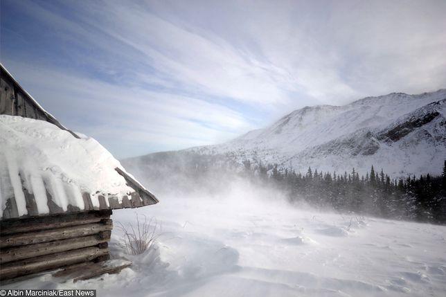 W Tatrach wieje halny. Kolejka na Kasprowy Wierch nie kursuje