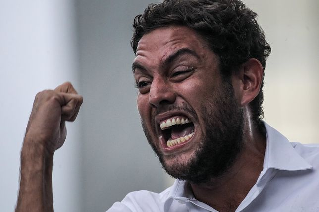 Deputowany i lider opozycji Juan Requesens