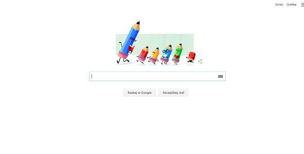 Dzień Edukacji Narodowej w Google Doodle
