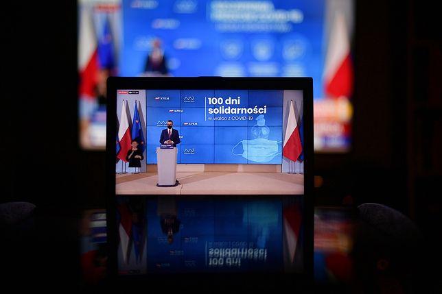Koronawirus w Polsce. Premier Mateusz Morawiecki: czeka nas 100 dni solidarności