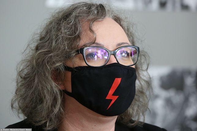 Zdaniem szefowej Strajku Kobiet Marty Lempart, słowa ministra nie mają pokrycia w rzeczywistości