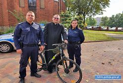 Odnaleziono rower ks. Mateusza