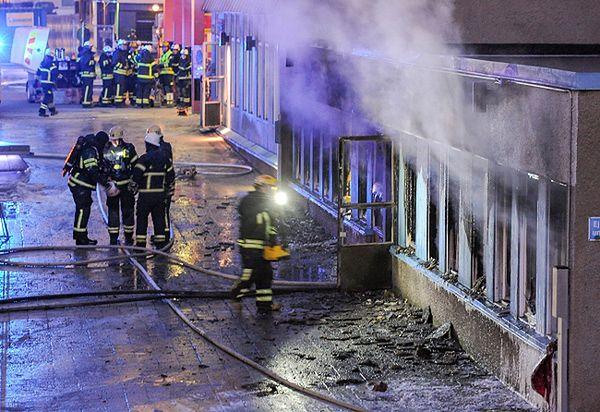 Grudniowy pożar meczetu w Szwecji to nie był zamach?
