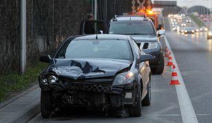 Warszawa. Na S8 zderzyły się trzy samochody