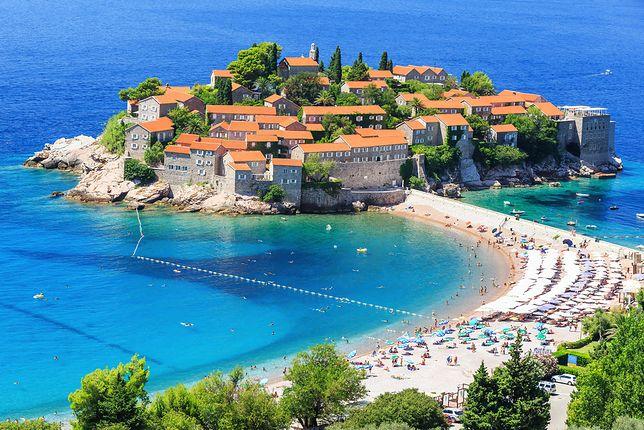 Atrakcje Czarnogóry - Sveti Stefan