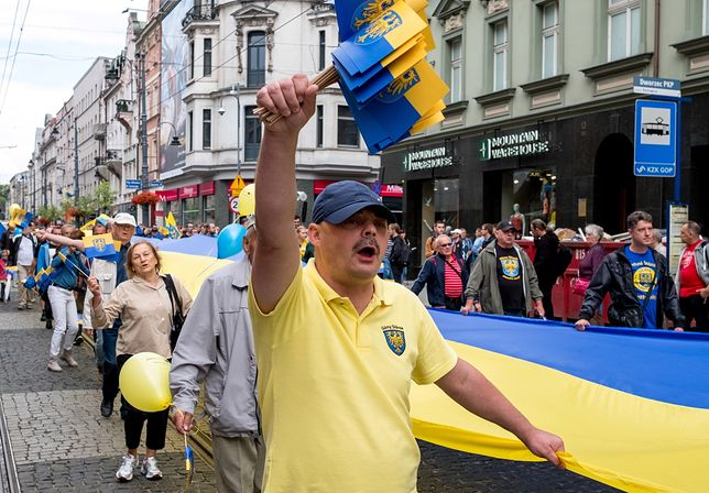 Inicjatorzy nowej partii co roku organizują w Katowicach Marsz Autonomii Śląska.