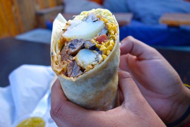 Śniadaniowe burrito zostało wymyślone na Zachodnim Wybrzeżu