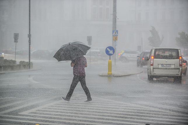 Pogoda na dziś. Nocne ulewy dokuczały mieszkańcom Gdańska