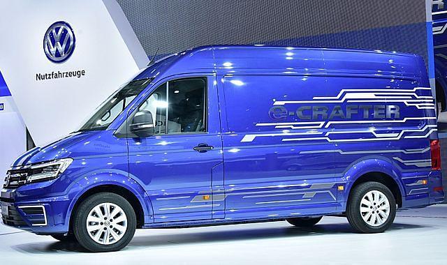 VW e-Crafter: dostawczak z napędem elektrycznym
