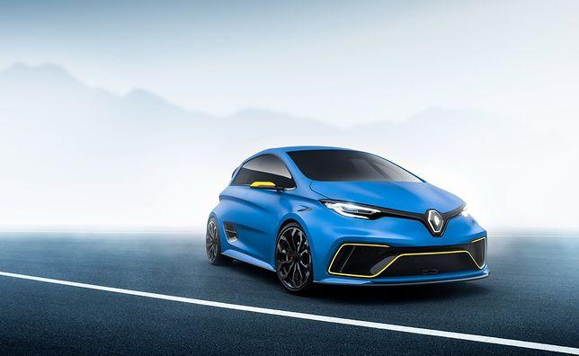 Koncepcyjne Renault zaskoczyło wszystkich w Genewie - ma 455 koni mechanicznych z elektrycznego napędu