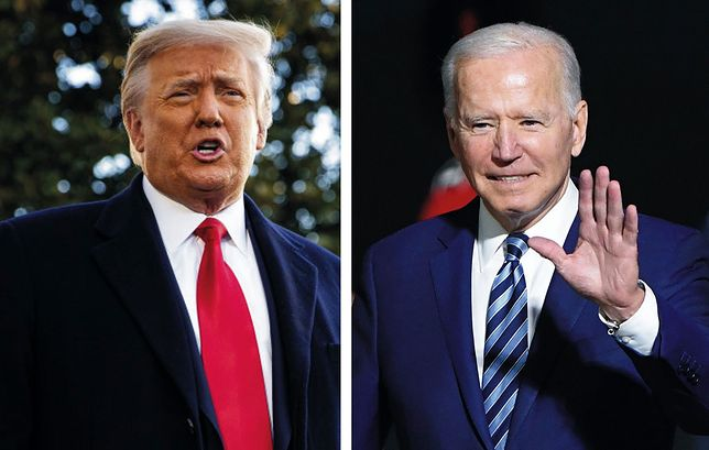 Donald Trump czy Joe Biden? Nowy sondaż w USA