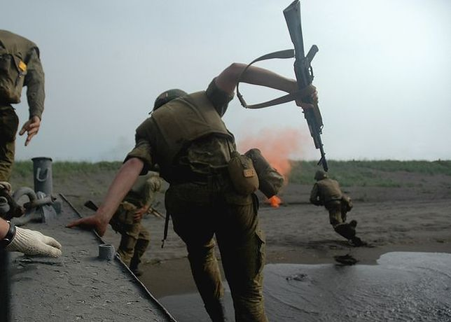"Manewry ""rosyjskich Marines"""
