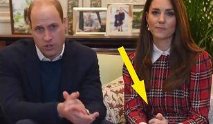 Kate Middleton i książę William na najnowszym wideo