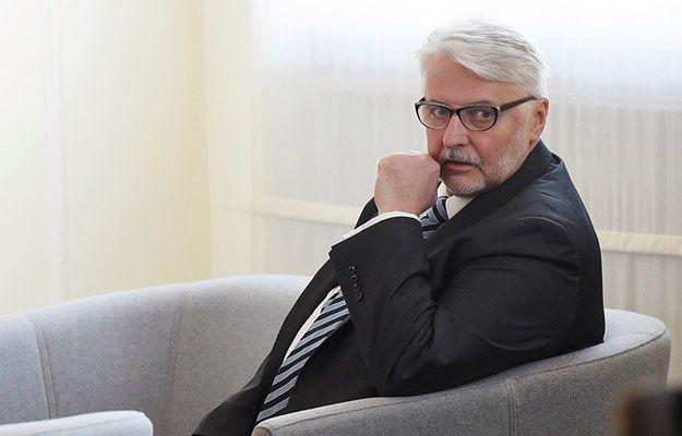 Witold Waszczykowski: odpowiedź na zalecenia Komisji Europejskiej była kurtuazyjna
