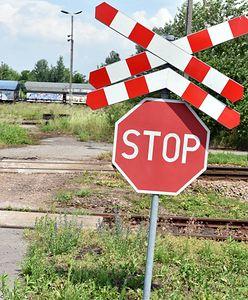 Wypadek w Andrychowie. Wjechała wprost pod nadjeżdżający pociąg