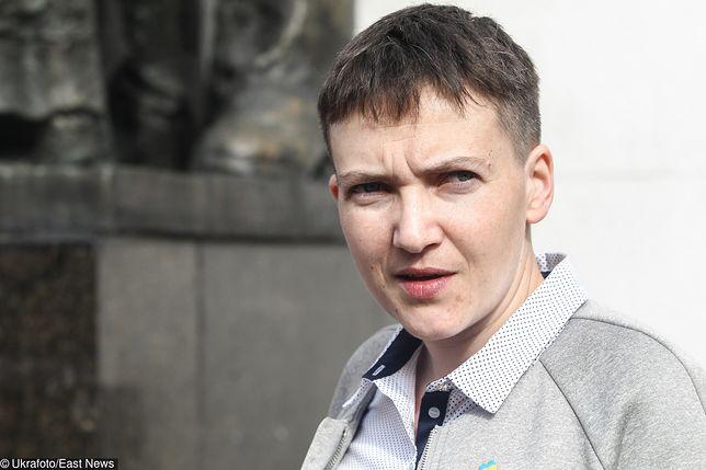Nadija Sawczenko nie cieszyła się długo wolnością